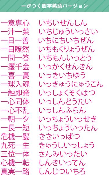 yojijukugo1