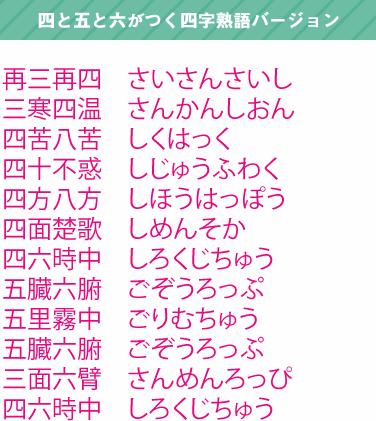 yojijukugo3